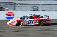 Feb 29, 2008; Las Vegas, NV, USA; Nascar Nationwide Series driver D.J. Kennington during practice for the Sams Town 300 at the Las Vegas Motor Speedway. Mandatory Credit: Mark J. Rebilas-