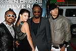 "HOLLYWOOD, CA. - April 28: Apl.de.Ap, Fergie, Will.i.am and Taboo of the Black Eyed Peas arrive at ""X-Men Origins: Wolverine"" Los Angeles Industry Screening at Grauman's Chinese Theatre on April 28, 2009 in Los Angeles, California."