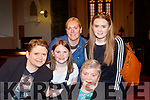 Night out<br /> ------------<br /> Enjoying the Light Opera Society of Tralee Music of the Night concert at St John's Church, Ashe St, Tralee last Friday were L-R Mary&amp;Charley Harris, Lesley O'Callaghan, Kate Carmody and Rebecca Harris all Tralee.