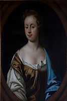 One of the Munro ladies from the past, displayed at Foulis Castle