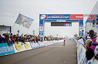 10th race win this season for Sanne Cant (BEL/BKCP-Powerplus)<br /> <br /> Koksijde CX World Cup 2014