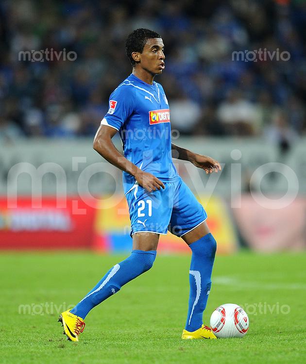 Fussball 1. Bundesliga :  Saison   2010/2011   3. Spieltag  10.09.2010 1899 TSG Hoffenheim - FC Schalke 04 Luiz Gustavo Dias (TSG 1899 Hoffenheim)