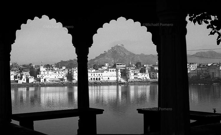 11.2010 Pushkar (Rajasthan)<br /> <br /> View of Pushkar.<br /> <br /> Vue de Pushkar.