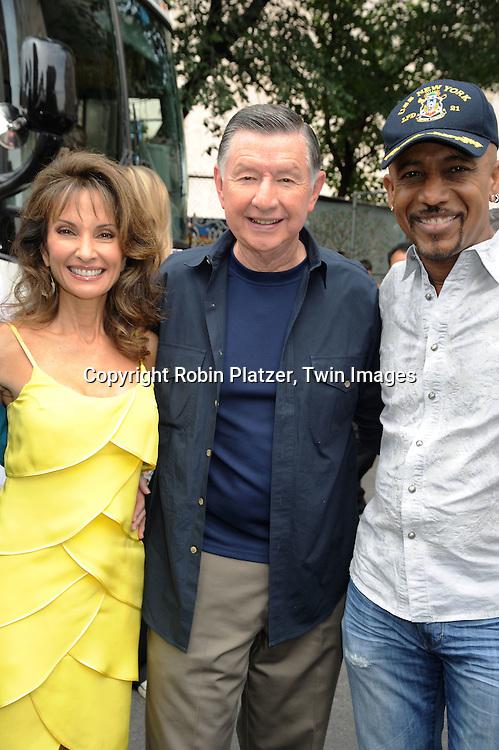 Susan Lucci, Larry Jones and Montel Williams