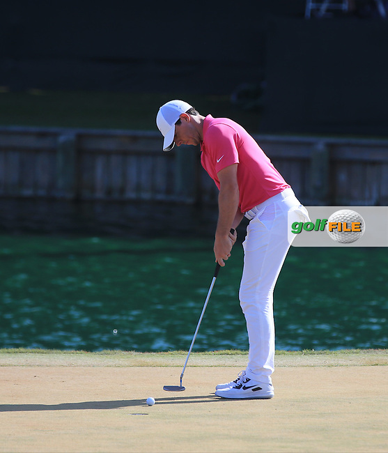 Rory McIlroy (NIR) during the Final round of The Players 2016 , TPC Sawgrass, Ponte Vedra Beach, Jacksonville.   Florida, USA. 15/05/2016.<br /> Picture: Golffile | Mark Davison<br /> <br /> <br /> All photo usage must carry mandatory copyright credit (&copy; Golffile | Mark Davison)