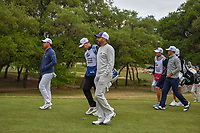 Sergio Garcia (ESP) heads down 14 during Round 2 of the Valero Texas Open, AT&T Oaks Course, TPC San Antonio, San Antonio, Texas, USA. 4/20/2018.<br /> Picture: Golffile | Ken Murray<br /> <br /> <br /> All photo usage must carry mandatory copyright credit (© Golffile | Ken Murray)