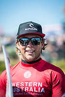 MARGARET RIVER, Western Australia/AUS (Thursday, March 30, 2017) Conner Coffin (USA) - The Drug Aware Margaret River Pro, Stop No. 2 of the World Surf League (WSL) Championship Tour (CT) continued today with men's Round 2 called ON for a 7:05 a.m. start. After seeing an historic opening day at North Point, competition was relocated to Main Break where the world's best surfers faced building eight foot (2.5 metre) waves.  A light onshore SW wind came in late morning.  Photo: joliphotos.com