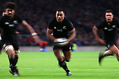 4th November 2017, Twickenham Stadium, Twickenham, England; Autumn International Rugby, Barbarians versus New Zealand; Nqani Laumape of New Zealand running with the ball