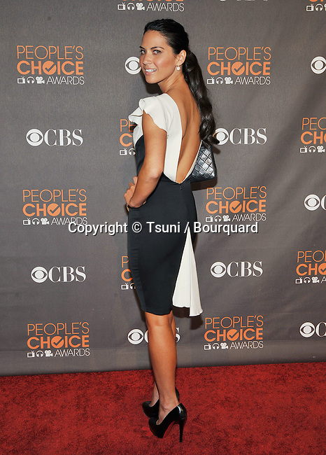 Olivia Munn _118  -<br /> People&rsquo;s Choice Awards 2010 at the Nokia Theatre In Los Angeles.