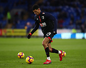 2nd February 2019, Cardiff City Stadium, Cardiff, Wales; EPL Premier League football, Cardiff City versus AFC Bournemouth; Dominic Solanke of Bournemouth during warm up