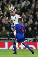 /o17/ and Toby Alderweireld of Tottenham Hotspur during Tottenham Hotspur vs Olympiacos FC, UEFA Champions League Football at Tottenham Hotspur Stadium on 26th November 2019