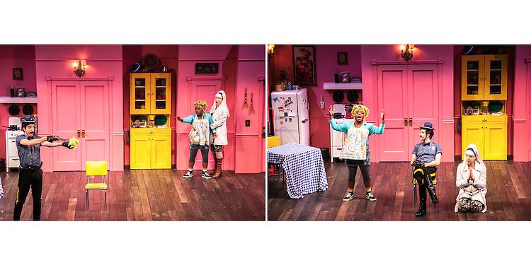 We Won't Pay, We Won't Pay play by Dario Fo and directed by Jane Nichols at the Cornish Playhouse in Seattle, WA.
