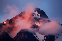 Sunset on Mt. Alice, Chugach National Forest, Alaska.