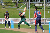 Action from CSW Cricket - Gillette Cup Final Onslow v HIBS at Basin Reserve, Wellington, New Zealand on Wednesday 2 April 2014. <br /> Photo by Masanori Udagawa. <br /> www.photowellington.photoshelter.com.