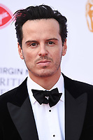 LONDON, UK. May 12, 2019: Andrew Scott arriving for the BAFTA TV Awards 2019 at the Royal Festival Hall, London.<br /> Picture: Steve Vas/Featureflash