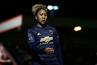 Lauren James of Manchester Utd during Arsenal Women vs Manchester United Women, FA WSL Continental Tyres Cup Football at Meadow Park on 7th February 2019