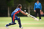Indu Barma of Nepal in action during their ICC 2016 Women's World Cup Asia Qualifier match between China and Nepal  on 11 October 2016 at the Kowloon Cricket Club in Hong Kong, China. Photo by Marcio Machado / Power Sport Images