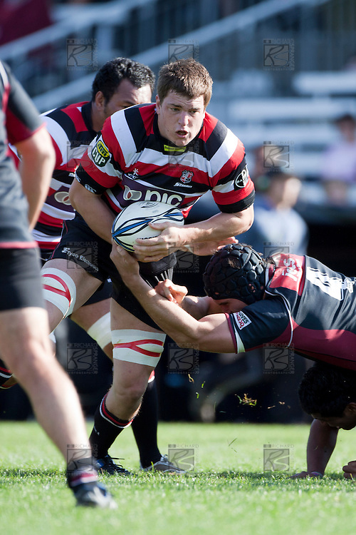 ITM Cup rugby game between Counties Manukau and North Harbour, played at Bayer Growers Stadium Pukekohe on Sunday October 3rd 2010. Counties Manukau won 24c - 23 after leading 14 - 10 at halftime.