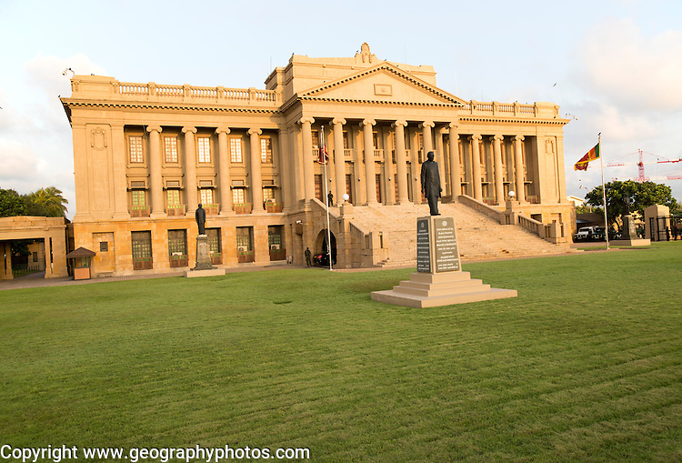 Old Parliament Building now the Presidential Secretariat offices, Colombo, Sri Lanka