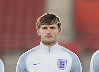 John Swift (Reading) of England during the Under 21 International Friendly match between England and Italy at St Mary's Stadium, Southampton, England on 10 November 2016. Photo by Andy Rowland.