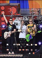 Blink-182 Perform On Good Morning America Summer Concert Series