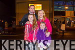 Michael Ross, Katie Ross, Aoife Ross and Carmel Ross from Tralee. enjoying  the New Year's Eve fireworks display at Manor on Wednesday evening