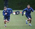 Kyle Hutton and Lee McCulloch