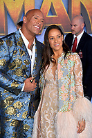 """LOS ANGELES, USA. December 10, 2019: Dwayne Johnson & Dania Ramirez at the world premiere of """"Jumanji: The Next Level"""" at the TCL Chinese Theatre.<br /> Picture: Paul Smith/Featureflash"""
