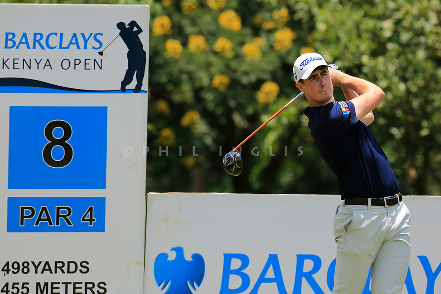 Gary Hurley (IRE) during the final round of the Barclays Kenya Open played at Muthaiga Golf Club, Nairobi, Kenya 22nd - 25th March 2018 (Picture Credit / Phil Inglis) 22/03/2018<br /> <br /> <br /> All photo usage must carry mandatory copyright credit (&copy; Golffile | Phil Inglis)