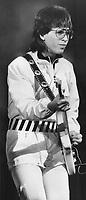 Elliott Easton: The Cars lead guitarist, 1980<br /> <br /> PHOTO : Griffin, Doug