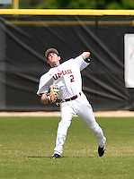 UMass Kyle Adie #2 during a game vs Indiana Hoosiers at Lake Myrtle Main Field in Auburndale, Florida;  March 16, 2011.  Indiana defeated UMass 11-10.  Photo By Mike Janes/Four Seam Images