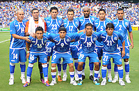 El Salvador starting eleven. El Salvador National Team defeated Venezuela 3-2 in an international friendly at RFK Stadium, Sunday August 7, 2011.