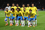 27th March 2018, Olympiastadion, Berlin, Germany; International Football Friendly, Germany versus Brazil; Team Brazil