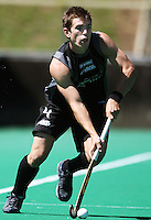 NZ's Andrew Hayward during the international hockey match between the New Zealand Black Sticks and India at National Hockey Stadium, Wellington, New Zealand on Saturday, 20 February 2009. Photo: Dave Lintott / lintottphoto.co.nz