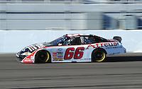 Feb 29, 2008; Las Vegas, NV, USA; Nascar Nationwide Series driver Steve Wallace during practice for the Sams Town 300 at the Las Vegas Motor Speedway. Mandatory Credit: Mark J. Rebilas-