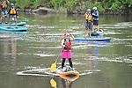 7/18/14 am Stand Up Paddle Colorado Upper Colorado River - Rancho Del Rio to State Bridge