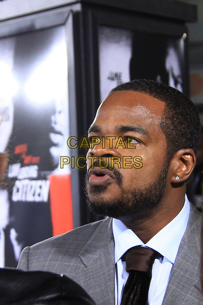 "F. GARY GRAY.The Overature Film L.A. Premiere of ""Law Abiding Citizen"" held at The Grauman's Chinese Theater in Hollywood, California, USA. .October 6th, 2009 .headshot portrait gray grey black beard facial hair mouth open.CAP/ADM/TC.©T. Conrad/AdMedia/Capital Pictures."
