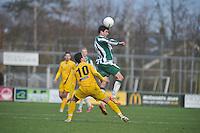 VOETBAL: JOURE: 24-11-2013, Sportpark Hege Simmerdijk, SC Joure - SWZ Boso Sneek, uitslag 2-0, ©foto Martin de Jong
