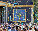 Celebratory streamers at the official opening ceremony prior to the 37th Ryder Cup Matches, September 16 -21, 2008 played at Valhalla Golf Club, Louisville, Kentucky, USA ( Picture by Phil Inglis ).... ......