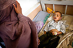 The children's intensive care unit at Mirwais Hospital in Kandahar, Afghanistan, April 23, 2009. Despite worsening security, development continues at Mirwais Hosptial, where the International Committe of the Red Cross conducts training and assists the local staff. Mirwais is the main public hosptial serving five southern provinces. As security has deteriorated in the South, many international NGO's have pulled their staff from the area or shut down the regional office, stunting development in a region where it is badly needed.