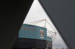 Coventry City 1 Birmingham City 1, 10/03/2012. Ricoh Arena, Championship. An exterior view of the Ricoh Arena, pictured before Coventry City hosted Birmingham City in an Npower Championship fixture. The match ended in a one-all draw, watched by a crowd of 22,240. The Championship was the division below the top level of English football. Photo by Colin McPherson.