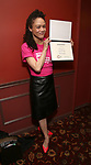 Amber Gray attends The 69th Annual Outer Cirtics Circle Awards Dinner at Sardi's on 5/23/2019 in New York City.