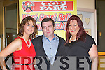 AWARDS: Attending the Kerry Rally Top Parts  2012 awards night in the Ballyroe Heights Hotel, Tralee on Saturday night, L-r: Christina Healy, Sean Moriarty and Karen J O'Sullivan.