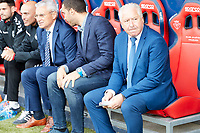 Fabri Gonz&aacute;lez (coach; Lorca FC) during the Spanish la League soccer match between CA Osasuna and Lorca FC at Sadar stadium, in Pamplona, Spain, on Saturday, <br /> May 27, 2018.