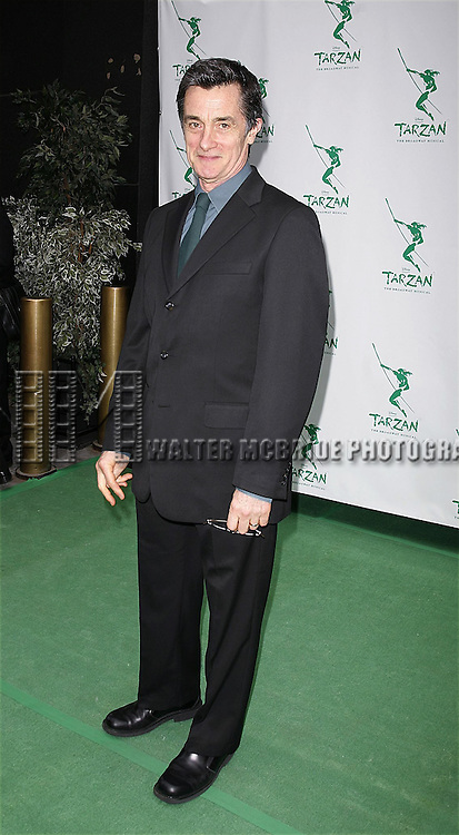 Roger Rees <br /> attending the Opening Night of the Roundabout Theatre Company's<br /> A DAY IN THE DEATH OF JOE EGG at the American<br /> Airlines Theatre, New York City.<br /> April 3, 2003