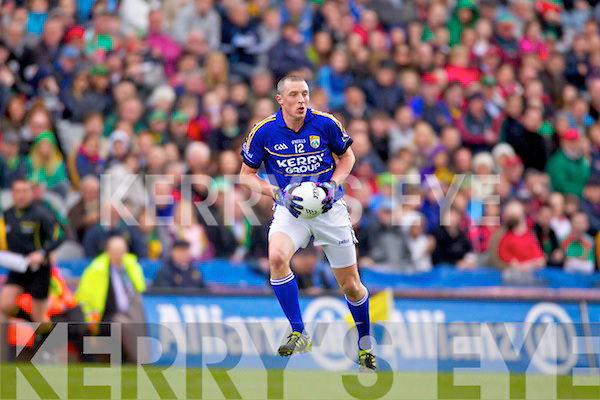 Kieran Donaghy Kerry in action against   Mayo in the National Football League Semi Final at Croke Park on Sunday.