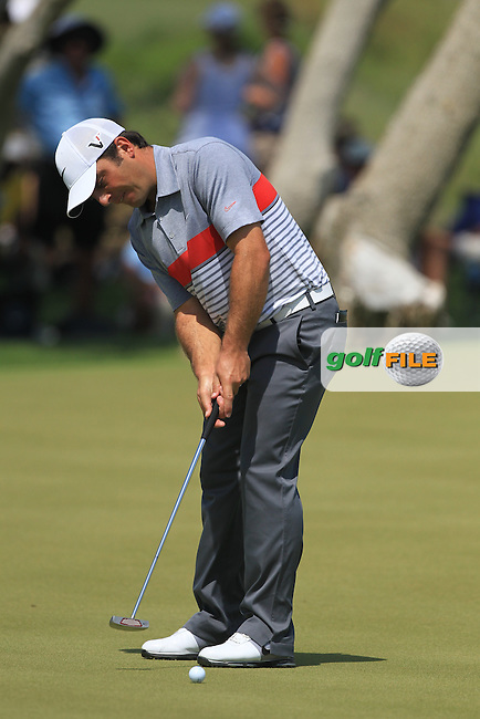 Francesco Molinari (ITA) takes his putt on the 7th green during Saturday's Round 3 of the 94th PGA Golf Championship at The Ocean Course, Kiawah Island, South Carolina, USA 10th August 2012 (Photo Eoin Clarke/www.golffile.ie)