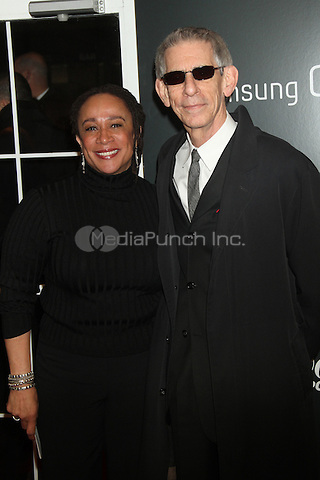 NEW YORK, NY - DECEMBER 11: S. Epatha Merkerson and Richard Belzer at the Screening Of 'Django Unchained' at  the Ziegfeld Theater on December 11, 2012 in New York City.Credit: RW/MediaPunch Inc.