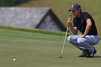 Maverick McNealy (USA) on the 6th green during Friday's Round 2 of the 117th U.S. Open Championship 2017 held at Erin Hills, Erin, Wisconsin, USA. 16th June 2017.<br /> Picture: Eoin Clarke | Golffile<br /> <br /> <br /> All photos usage must carry mandatory copyright credit (&copy; Golffile | Eoin Clarke)