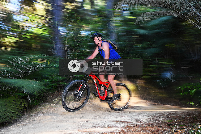 NELSON, NEW ZEALAND - April 16: Kaiteriteri 6 Hour Bike Relay on April 16, 2016 in Motueka, New Zealand. (Photo by: Chris Symes/Shuttersport Limited)